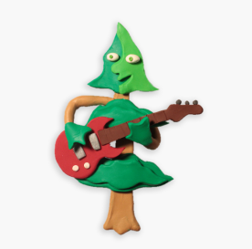 The guitar playing tree from Timmy's Town.