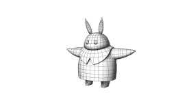 Tiger Bunny Wireframe
