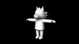 Wolfie Model (Half Way Down)